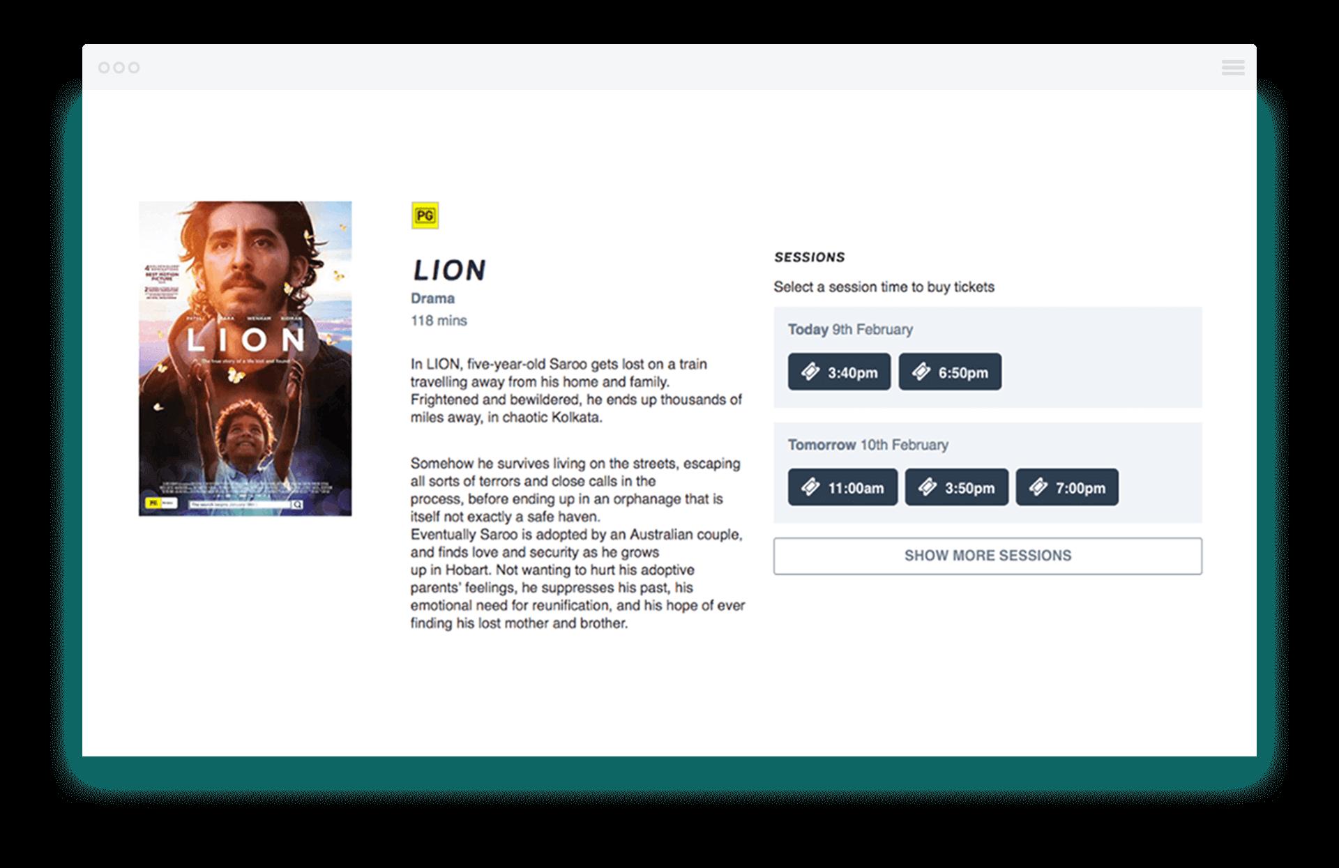 Cinema Information Example