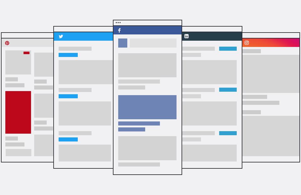 Social Media Screens