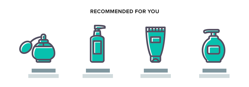 Recommended Products Graphic