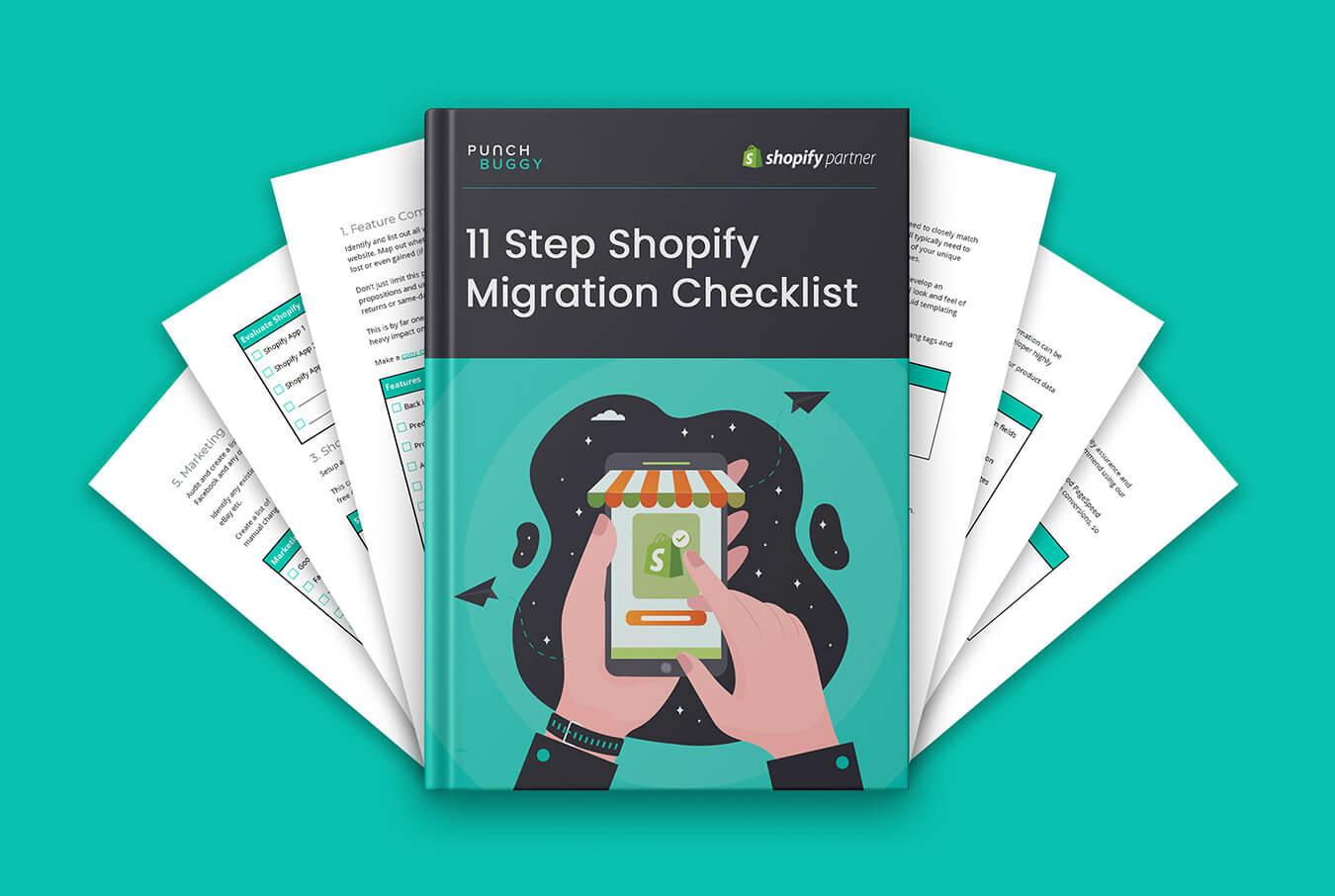 FREE 11 Step Shopify Migration Checklist
